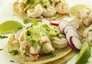 Avocado Shrimp Tacos